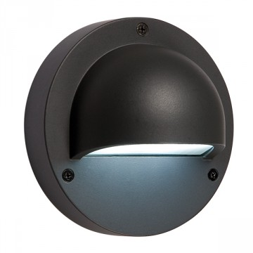 Luce a parete Deimos antracite - LED Bianco 1 W - GARDEN LIGHTS GL3095011