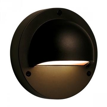 Luce a parete Deimos nero - LED Bianco 1 W - GARDEN LIGHTS GL3132011