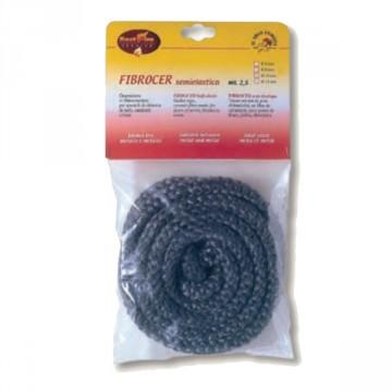 Guarnizione di chiusura in fibra di vetro FIBROCER diam. 10 mm rotolo 2.5 mt - BEST FIRE