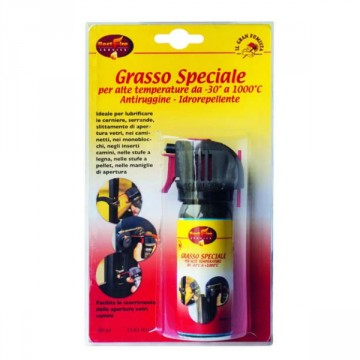 Grasso speciale per alte temperature antiruggine idrorepellente bombola 50 ml - BEST FIRE