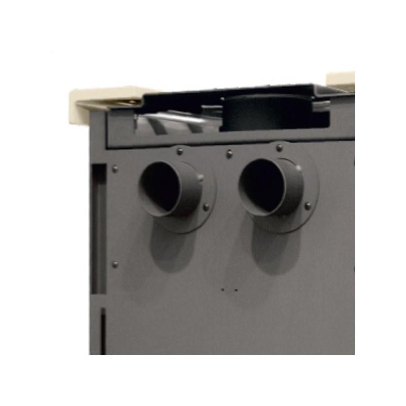Stufa legna thermorossi 820 easy rivestimento - Stufe a pellet canalizzata prezzi ...