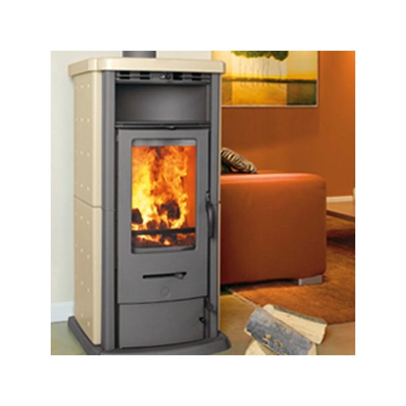 Stufa legna thermorossi 800 pu rivestimento in for Thermorossi h2o 18 prezzo