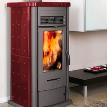 Stufa legna thermorossi 820 pu rivestimento in for Thermorossi h2o 18 prezzo