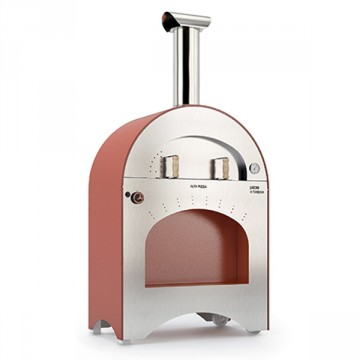 "Forno a Gas ""Pizza & Brace"" in Acciao Inox ALFA REFRATTARI - 12 pizze in 15 minuti - ALFA PIZZA"