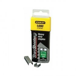 """Confezione 1000 Graffe 6 mm Punti Tipo """"G"""" - STANLEY 1-TRA704T"""