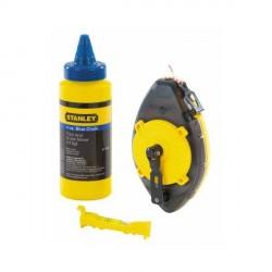 Set Tracciatore Powerwinder Flacone Polvere blu e Livella - STANLEY 0-47-465