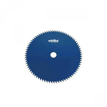 Disco decespugliatore 80 Denti per Arbusti ATTILA Acciao 80 ∅ Lama 255 mm Foro 25,4 mm