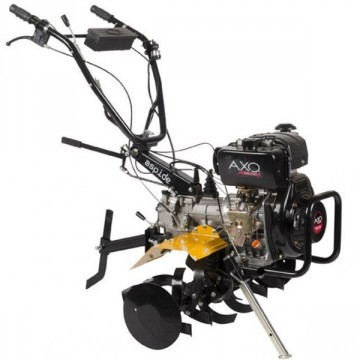 Motozappa AXO ASPIDE 3+1 178D Motore Diesel (AMD178) 6.7Hp - 296 cc - avviamento autoavvolgente
