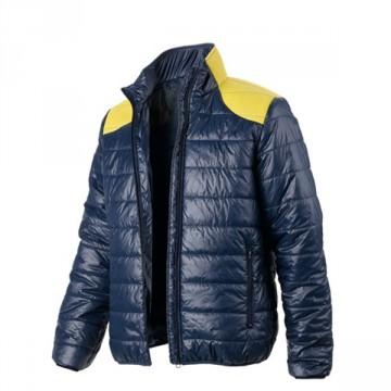 Giacca Light Jacket Mesh DIADORA UTILITY - Blu Corsaro con inserti Gialli - 161417 C5876