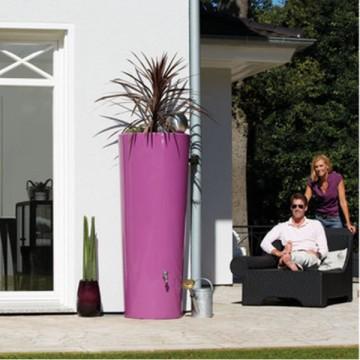 Vaso Cisterna Modello 2in1 - Vaso da fiori e Cisterna per acqua ø base 50-ø superiore 62 x h 150 cm - GARANTIA - ESCHER