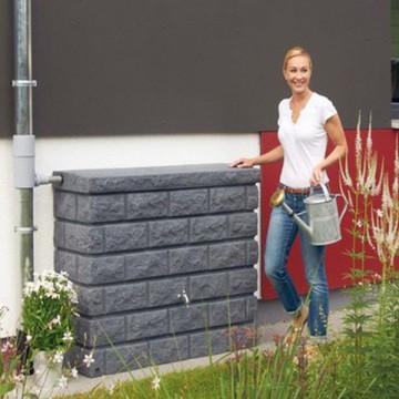Muretto Cisterna per acqua finitura granito 120 x 40 x h 100 cm - GARANTIA - ESCHER