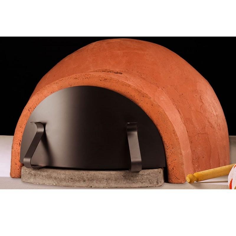 Forno a legna cupolino 70 in refrattario alfa for Forno a legna per pizza fai da te