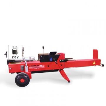 """Spaccalegna Orizzontale BELL SP 21 E """"NEW"""" Motore Elettrico Monofase 2,5Hp - Potenza Spinta 5,5 T - Piano di Taglio 53 cm"""