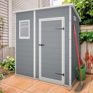 Casetta da giardino 183,5x112x200,5h cm - KETER MANOR PENT 6x4