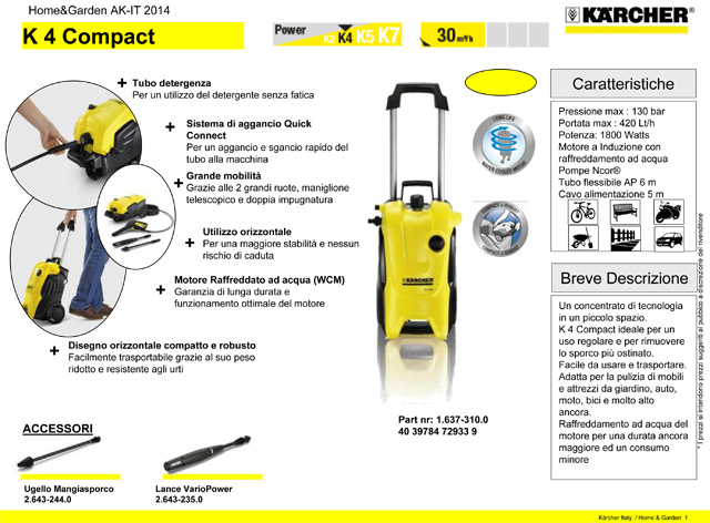 Karcher K4 Compact