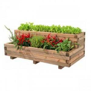 Fioriere in legno per la bellezza naturale mollo store for Fioriera legno fai da te
