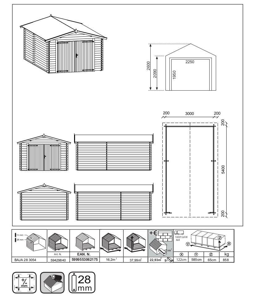 Scheda tecnica GarageEco