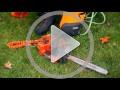 Come aprire i tappi dei serbatoi della motosega Husqvarna T540 XP