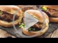 Tuna Burger Traeger
